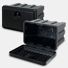 Staubox 40l Deichselbox Unterbaubox PKW Anhänger Kiste Gurtkiste Pritsche Box J2