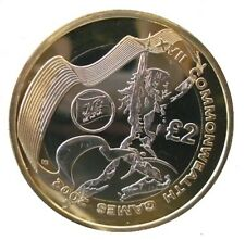 2002 £2 COMMONWEALTH GAMES WALES TWO POUND COIN HUNT 05/32 RARE BI-METAL 2 xx
