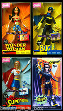 Wonder Woman Batgirl Supergirl 2003 Super Hero Catwoman DC Comics Barbie Doll D3