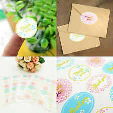 120Pc Gold/Silver Stamp Thank You Seal Sticker Paste Gift Seal Stickers Labels