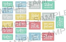 Baby Milestone Cards | Baby Shower Gift | Monogram Digital Baby Photo Props