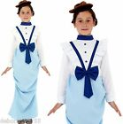 Girls Kids Posh Victorian Fancy Dress Costume World Book Day Outfit 4-12 years