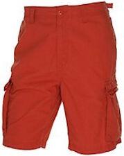 New men's NAUTICA cargo shorts size 50 Red