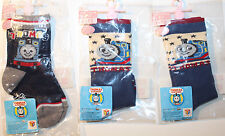 Thomas & Friends 3 Pairs Baby Boys Socks 9-12cm from Japan Anti-Slip Bottoms