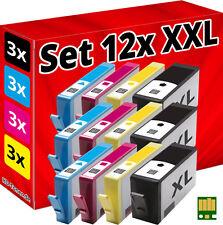 12x CHIP PATRONEN für HP-364-XL DESKJET 3070A 3520 3522 3524 OFFICEJET 4620 4622