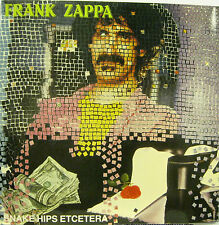 "FRANK ZAPPA ""SNAKE HIPS ETCETERA""  double lp live mint"
