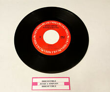"""Jessica Simpson Featuring Lil Bow Wow, Irresistible, 7"""" Jukebox Vinyl Record"""