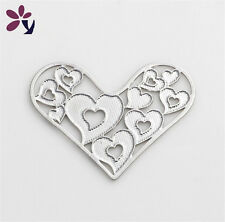 New Floating charm 22mm Lockets silver Heart for glass Living Memory Locket
