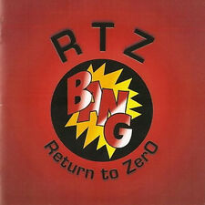 "Bang: ""RTZ-Return to Zero"" (CD-R)"