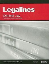 Legalines on Criminal Law, 3d--Keyed to Dressler (Legalines)