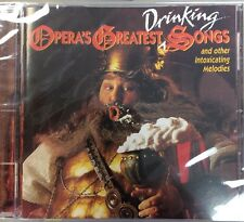 NEW SEALED Opera's Greatest Drinking Songs (CD, May-1995, RCA)