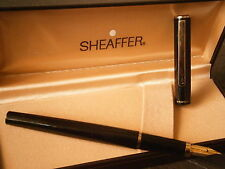 SHEAFFER SAILOR PENNA STILOGRAFICA LACCA NERA +SCATOLA Laque Fountain Pen + Box