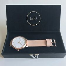 Kohë Rose Gold With Peach Leather Women's Watch The Style  MVMT Horse 5th