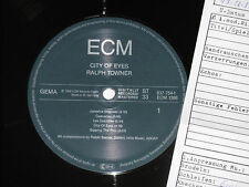RALPH TOWNER -City Of Eyes- LP 1988 ECM Archiv-Copy mint