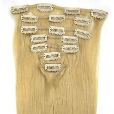 "Full Head 15""18""20""22""24""26""28""7PCS Clip In Remy Fashion Human Hair Extensions"