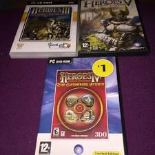 HEROES OF MIGHT ANF MAGIC III, IV & V PC GAMES