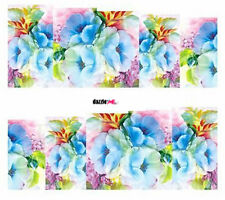 Nail Art Sticker Water Decals Transfers Decorative Flowers Floral (DC261)