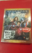 Avengers 2D+3D Steelbook, Singapore version, New/Sealed, with embossed slipcover