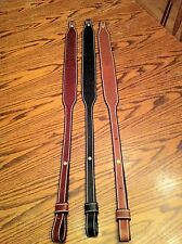 hand made leather gun sling