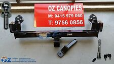 MITSUBISHI MN TRITON Tow bar HEAVY DUTY 3000KG NEW 2009 to 2015 tub with step