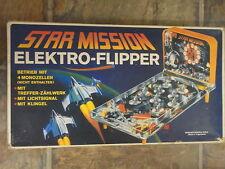 elektrischer Tisch-Flipper Star Mission 80er Mehano mit OVP K