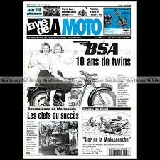 LA VIE DE LA MOTO LVM N°173 BSA A50 STAR / WASP A65 LIGHTENING / THUNDERBOLT