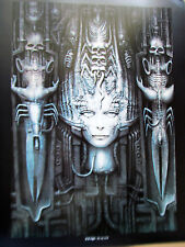 H R Giger print  LI II or Woman with Skulls  - 14X11-LTD. ED. UNSIGNED POSTER