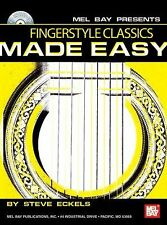 Mel Bay Fingerstyle Classics Made Easy by Steven Eckels