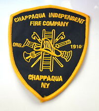 CHAPPAQUA NY FIRE DEPT COMPANY  Embroidered Sew On Cloth Patch Badge APPLIQUE