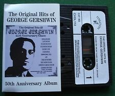 The Original Hits of George Gershwin 50th Anniversary Album Cassette Tape TESTED