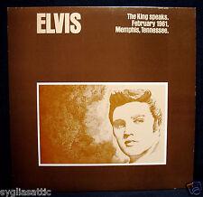 ELVIS PRESLEY-ELVIS: THE KING SPEAKS-Original Pressing-GREAT NORTHWEST #4006