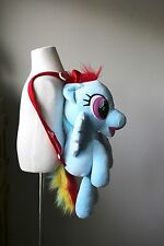 My Little Pony Rainbow Dash Plush Backpack MLP Friendship Is Magic