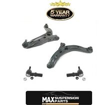 Lower Control Arms W/Ball Joints Bushings Tie Rods 2000-2006 Mazda MPV 4Pc Kit