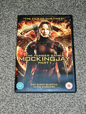 THE HUNGER GAMES : MOCKINGJAY PART 1 - 2015 ACTION DVD IN VGC (FREE UK P&P)