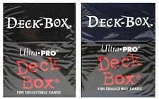 Ultra-Pro BLACK BLUE RED DECK BOX For 150 Sleeves Magic/Pokemon/Yu-Gi-Oh Cards