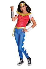 NEW DC Superhero Girl Wonderwoman Deluxe Costume size 3-5