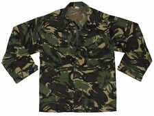 "NEW BRITISH ARMY DPM SHIRT XXL LONG 47"" CHEST 190/120 M65, COMBAT WOODLAND"