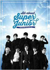 SUPER JUNIOR- All about Super Junior TREASURE WITHIN US 6 DVD+Postcard+Poster