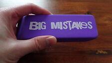 """Giant Jumbo Big PURPLE Eraser Rubber 140mm Long. """"Big Mistakes"""""""