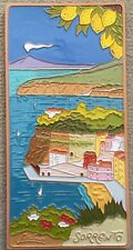Vietri pottery-11,3/4x6 Sorrento Tile.Made/Painted by hand in Italy