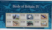 GB 2011 POST & GO BIRDS IV PRESENTATION PACK