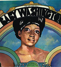 """LP 12"""" 30cms: Baby Washington: the one and only. trip"""