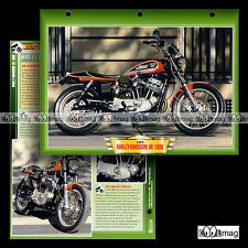 #047.05 Fiche Moto HARLEY-DAVIDSON XR 1000 1984 Motorcycle Card