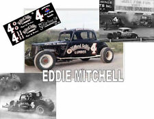 CD_641 #4 Eddie Mitchell    1:64 scale decals   ~OVERSTOCK~