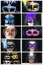 50 MASKS Wholesale Lot Mardi Gras Masquerade Wedding Party Favor New Year's ❤️️