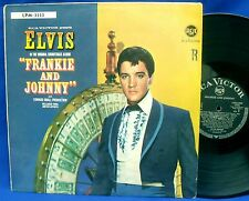 LP ELVIS PRESLEY - FRANKIE AND JOHNNY // GERMAN BLACK RCA LPM-3553