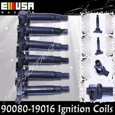 6PCS Ignition Coils fit2002-2006 Toyota Camry LE XLE Sedan 4D 3.0 V6 90080-19016