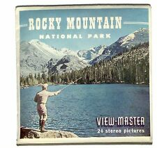Vintage SAWYERS View Master ROCKY MOUNTAIN NATIONAL PARK reels Colorado travel !