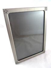 Silvertone Metal Photo Picture Frame Corner Design