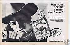 Publicité Advertising 026 1964 Camel cigarettes
